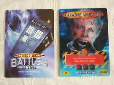 Dr Who Trading Card INVADER Card No. 474 LAZARUS MUTATION 099/225