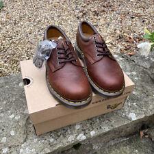 Dr. Martens Unisex 8053 Laced Harvest Tan Leather Shoes Uk 6.5  Eu 40 BNIB