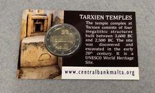 "Coincard 2 Euro Sondermünze Malta 2021""Tempel Tarxien""Sofort"