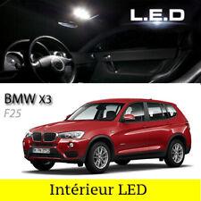 Kit éclairage 20 ampoules à LED pour l'éclairage intérieur blanc BMW  X3  F25