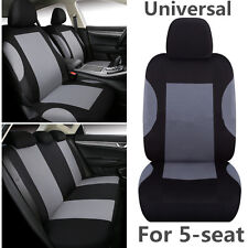 Sport Car Seat Covers Front + Rear 5-seat Cool Cushion Interior Seat Accessories (Fits: More than one vehicle)