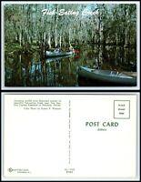 FLORIDA Postcard - Palmdale, Fish Eating Creek, Canoeing H6