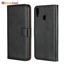 Genuine Leather Wallet Flip Stand Case Cover For Huawei Honor 8X