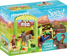 Playmobil Snips & Señor Carrots with Horse Stall 70120 (for Kids 4 and up)