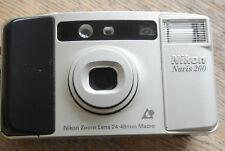 Nikon Nuvis 200 APS 24-48mm Lens Compact Camera. NICE