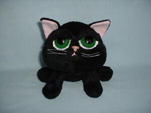 RUSS BERRIE & CO LITTLE LIL PEEPERS SHADOW BLACK KITTEN CAT Soft Plush Toy