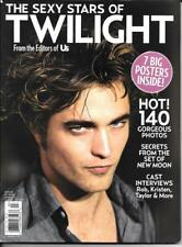 Sexy Stars of Twilight / Robert Pattinson, 7 Big Posters / Us Collector Magazine