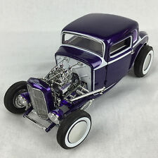 ACME 1932 FORD 5 WINDOW VINTAGE COUPE DEUCE HOT ROD PURPLE 1:18 GMP A1805009