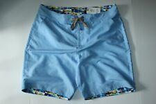 Robert Graham Swim Suit Trunks Board Shorts Muscle Beach Blue New 40 Waist $188