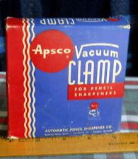 Apsco Vacuum CLAMP FOR  Pencil Sharpeners DeskTop Vacuum Mount with Orignal Box