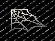 "12"" Spider Web Gusset Hot Rat Rod Chassis Gasser Rock Crawler Chopper RIGHT"