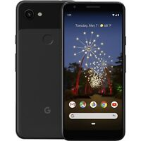 Unlocked GOOGLE PIXEL 3a Just Black 'Good Condition' 64GB with 3 months warranty