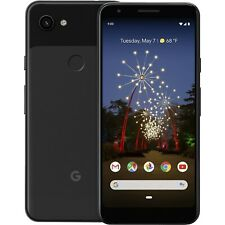 Unlocked GOOGLE PIXEL 3a XL Just Black 'Good Condition' 64GB with warranty
