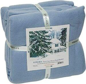 Elaine Karen Royal Luxury Micro Plush Fleece Bed Blanket - Soft, Warm and Cozy,