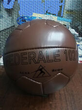 Federale 102 Roma | Vintage Classic Soccer | Antique Leather Football | No. 5