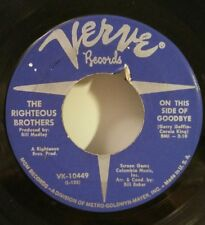 "Righteous Brothers Verve 10449 ""ON THIS SIDE OF GOOD BYE"" FREE SHIPPING"