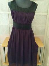 BODY flirt superbe  Robe /tunique * taille 36/38  coul violet et noir ** TBE