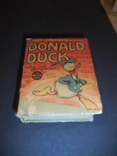 1937 Silly Symphony Donald Duck BLB Big Little Book #1169 VG/F