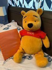 "WINNIE THE POOH Bear Large Plush Stuffed Animal Toy - 20"" Tall - Disney"
