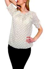 Maglie e camicie da donna beigi manica corti Taglia 42