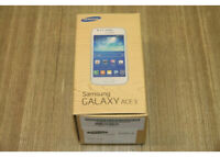 Samsung Galaxy Ace 3 4gb dual sim Unlocked Smartphone 4G touch FULL SET