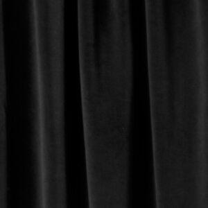 Black Velvet Drapery Upholstery 25 oz. Fabric by the yard