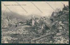 L'Aquila Avezzano Terremoto cartolina QQ3896