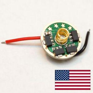 17mm SUPER VERSATILE LED Flashlight Driver w/ 22 Mode Groups - XM-L2 XP-G2 XP-E2