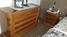 Camera da letto: como'-specchio-comodini Vintage
