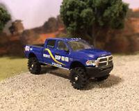 2017 Ram 1500 4x4 Lifted Custom 1/64 Diecast Truck Off Road 4WD Police Dodge