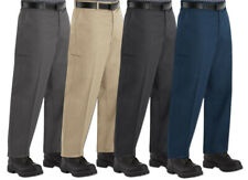 Red Kap Pants Cell Phone Pocket Men's Industrial Work Uniform Clothes