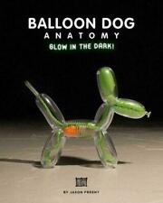 Mighty Jaxx Jason Freeny Ballnoon Dog by Anatomy Kaws (GID Edition)