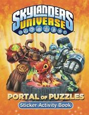 Skylanders Universe: Portal of Puzzles Sticker Activity Book Paperback 2013