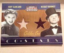 2009 DONRUSS AMERICANA Judy Garland & Mickey Rooney Duel Jer. Ssp 24/50 Wow