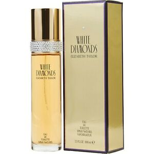 WHITE DIAMONDS by Elizabeth Taylor 3.4oz Women's Perfume EDT Spray New in Box.