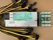 More details for 1200w power supply w/ breakout adapter 12 cables for ethereum mining