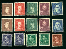 WWII, GERMANY, GROSSDEUTSCHES REICH, GENERALGOUVERNEMENT, STAMPS