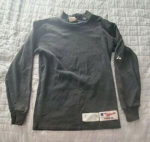 Chicago White Sox Jim Snyder game worn Majestic logo shirt size large