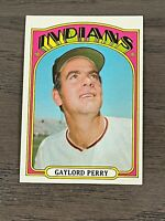 1972 Topps Gaylord Perry #285 Cleveland Indians HOF
