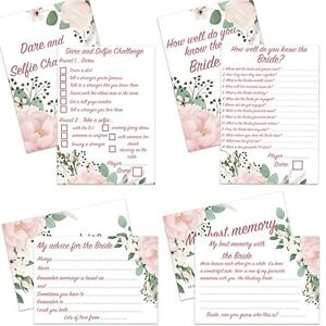 10 PACK HEN NIGHT PARTY BRIDE CARD GAMES BRIDAL SHOWER ADVICE FAVOURS KEEPSAKE