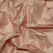 "Iridescent Pinkberry Creme 100% Silk Shantung Fabric 54"" W, By The Yard SF-5069"