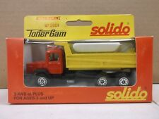 Solido Toner Gam Red & Yellow Dump Truck Iveco Benne No.2009 Metal