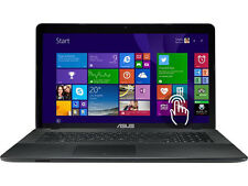 """Asus X751MA-DH21TQ Intel pen N3540 CPU-2.16ghz,8gb mem,1tb hdd,17.3"""" touch Win10"""
