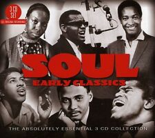 Soul: Early Classics-The Absolutely Essential 3cd (2012, CD NEU)