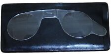 Surplus Lot of 20 Handheld Pocket Reading Glasses Unisex Compact Portable