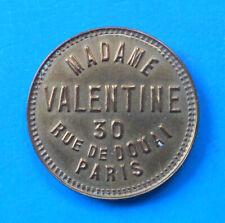 MAISON CLOSE BROTHEL BORDEL Paris Madame Valentine SUPERBE ET RARE