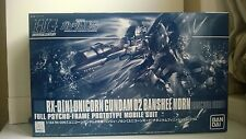 HG 1/144 Gundam Banshee Norn Unicorn Mode Titanium Finish