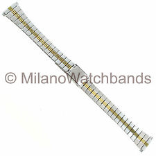 12-16mm Hirsch Bijou Ladies Two Tone Stainless Steel Two Piece Watch Band