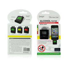 """ipega"" Digital LCD Breathalyser Alcohol Tester for iPad, iPhone4, iPod"