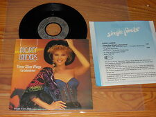 AUDREY LANDERS - THESE SILVER WINGS  GERMANY VINYL 7'' SINGLE 1986 & PROMO-FACTS